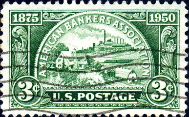 American Bankers Association. 1875-1950.US Postage.