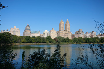 Reservoir of central park - NYC