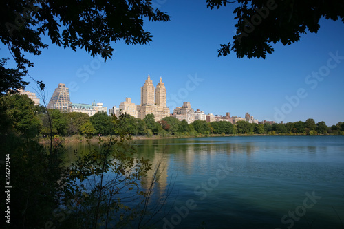 Reservoir of central park