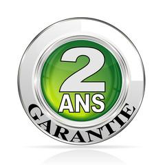bouton garantie 2 ans