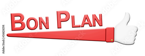 """""""Bon Plan"""" Symbole"""