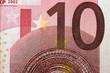 ten euro banknote detail