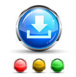 Download  Cristal Glossy Button