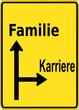 Familie vs. Karriere