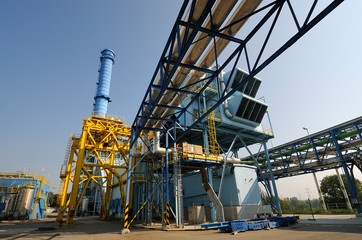 Gas turbine combined cycle power plant
