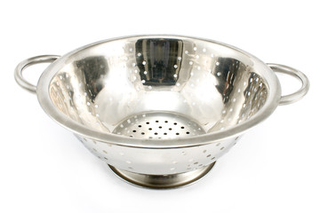 Chrome strainer