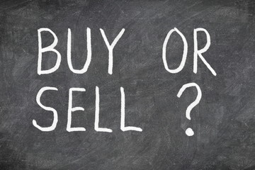 Buy or sell question on blackboard