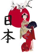 Gejsze i kanji