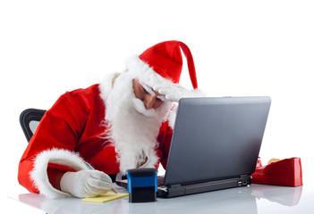 Babbo Natale al pc