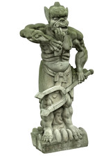 mystic stone sculpture at Fengdu County