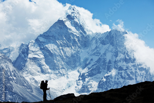 Hike in Nepal - 36642968