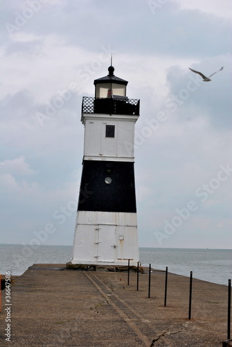 Presque Isle North Pierhead Lighthouse, PA, USA