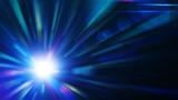 Fototapety Blue burst, abstract background