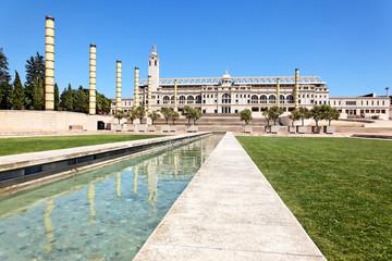 Olympia-Park und Stadion Barcelona, Spanien