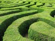 Leinwanddruck Bild - Labyrinth