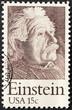 USA 15c Einstein Stamp