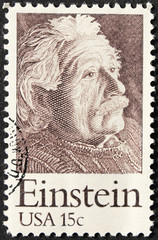 USA 15c Einstein Stamp