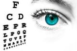 prova ottica della visione