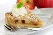 Apfel Streuselkuchen mit Sahne
