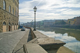 Embankment of Arno river poster