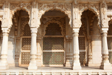Entrance arches of the Jaswant Thada in Jodhpur - Rajasthan