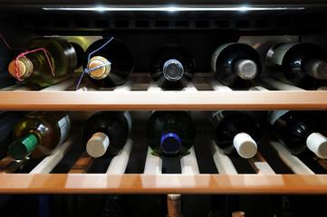 im Weinschrank