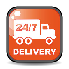 24/7 DELIVERY ICON