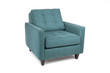 Retro teal chair