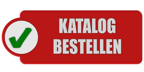 Button rot Haken KATALOG BESTELLEN