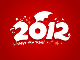 2012 year design in the form of a Dragon