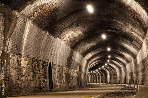 Curved Tunnel