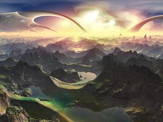 Newly Terraformed World