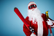 Sporty Santa