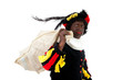 Zwarte piet ( black pete) typical Dutch