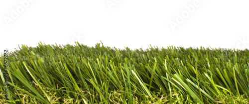 patch of artificial grass