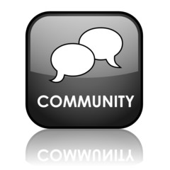 COMMUNITY Web Button (forum social networking share users like)