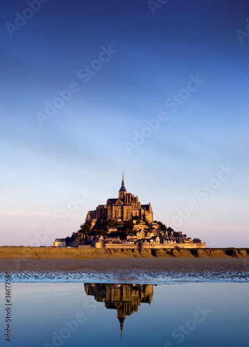 Mont Saint Michel, Francja