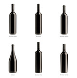 wine rosso bottle collection - 36678355