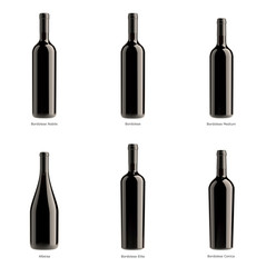wine rosso bottle collection