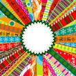 Scrapbook christmas patterns for design, vector