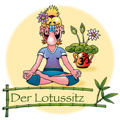 Hatha Yoga Asanas: Der Lotussitz