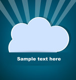 Paper cloud for text