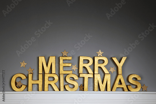 Merry Christmas - Weihnachtsdekoration