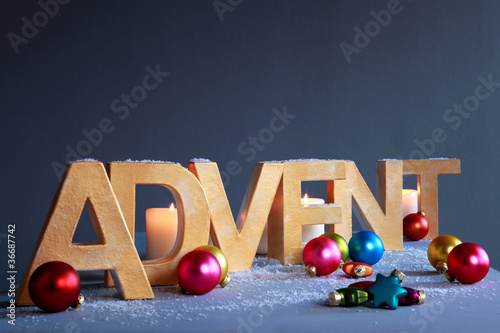 Advent - Weihnachtsdekoration