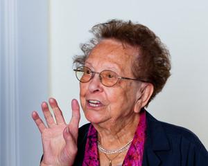Portrait einer Senioren