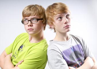Gelangweilte Teenager