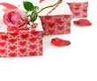 Gift Boxes And Rose