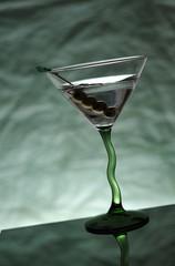 Angled Martini