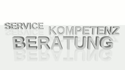 Service, Kompetenz, Beratung