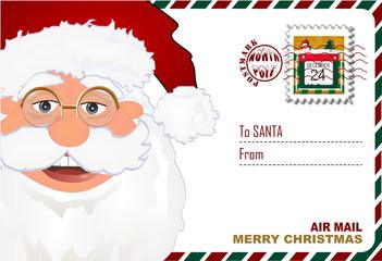 Sobre para mandar carta a Santa
